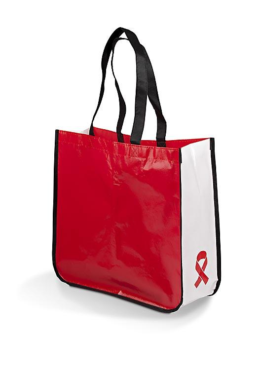 Aids Day Shopper Bags